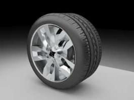 Kia Tire 3d preview