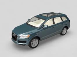 Audi Q7 Quattro 3d preview