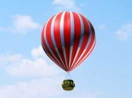 Hot Air Balloon 3d preview