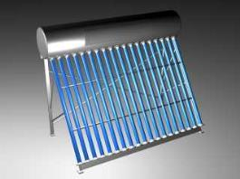 Solar Hot Water Heater 3d preview