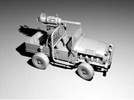 Armored Military Truck 3d preview