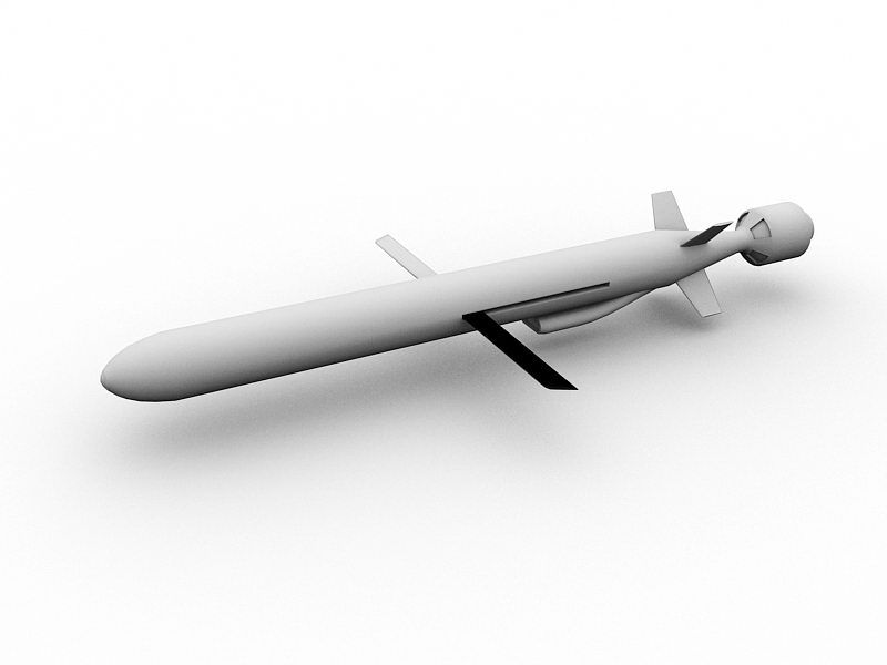 CJ-10 Chinese Missile 3d rendering