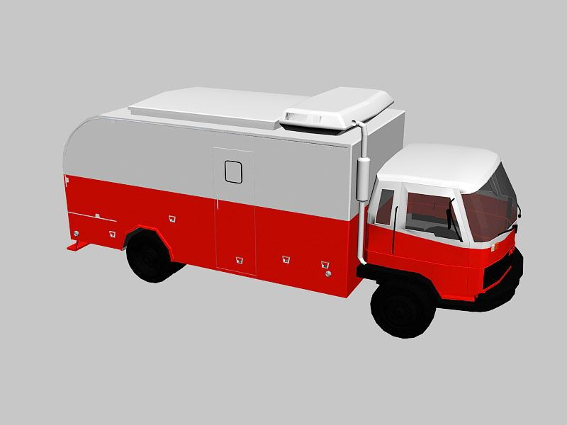 Expedition Vehicle 3d rendering