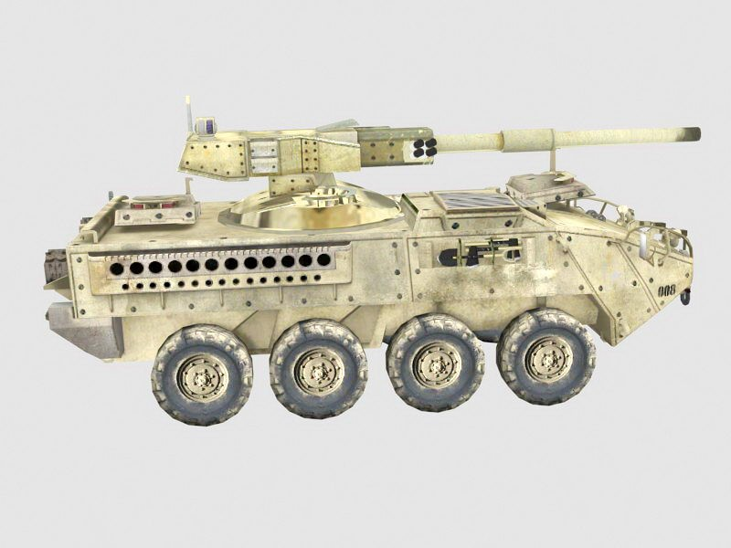 Armored Fighting Vehicle 3d rendering