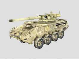 Armored Fighting Vehicle 3d preview