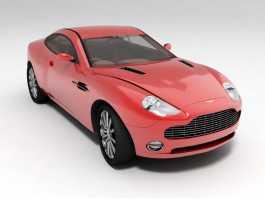 Aston Martin DBS V12 3d preview