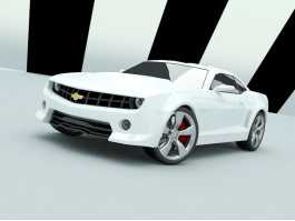Chevrolet Camaro 3d preview