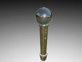 Dynamic Microphone 3d preview