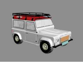 Land Rover Defender 90 3d preview