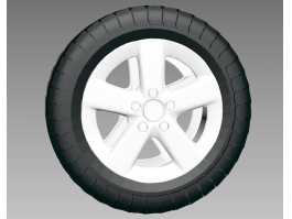 Tire Wheel 3d preview