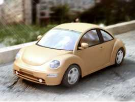 VW Beetle Dune 3d preview