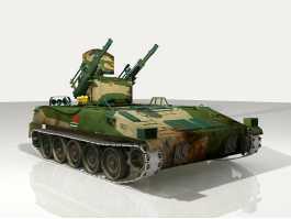 Self-propelled Gun 3d preview
