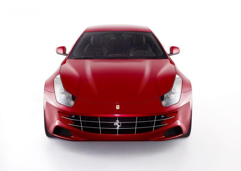 2012 Ferrari FF 3d rendering