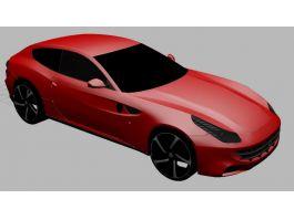 2012 Ferrari FF 3d preview