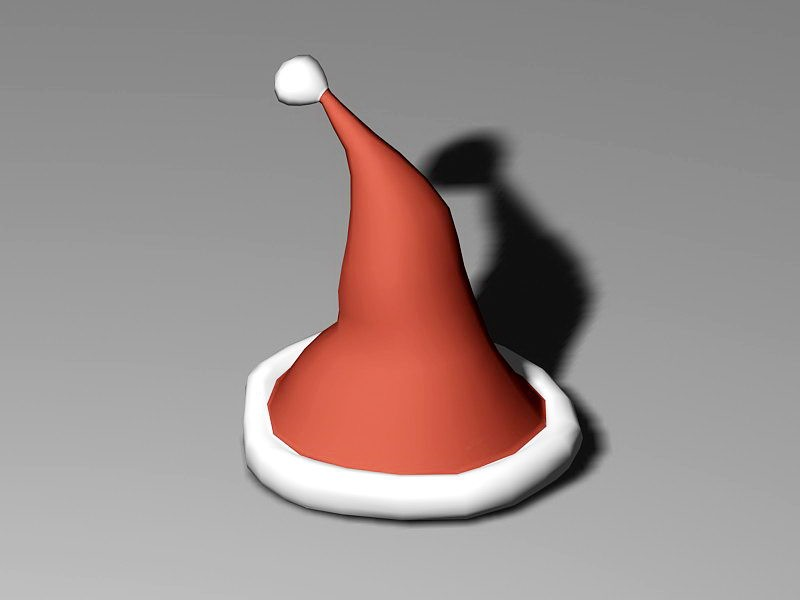 Christmas Cap 3d rendering