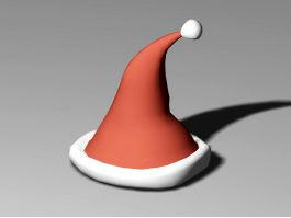 Christmas Cap 3d preview