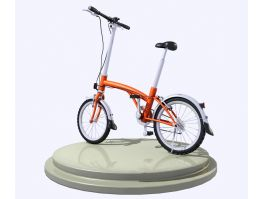 Small City Bicycle 3d preview
