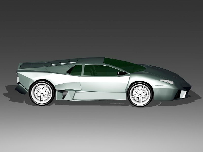 Lamborghini Roadster 3d rendering