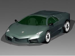Lamborghini Roadster 3d preview