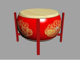 Large Drum 3d preview