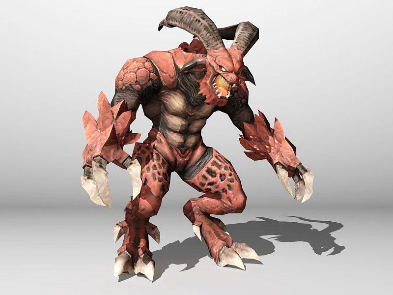 Diablo 3d rendering