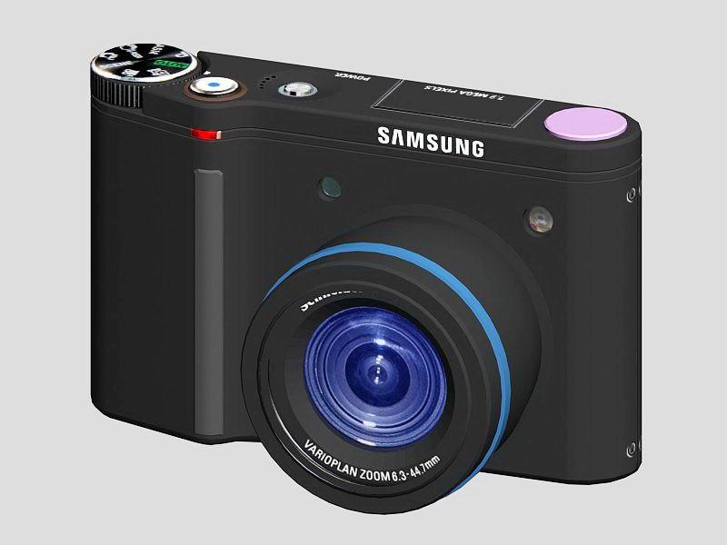 Samsung NV5 Digital Camera 3d rendering