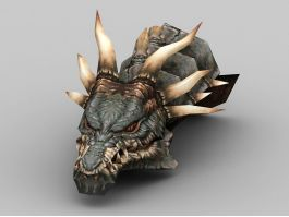 Dragon Head 3d preview