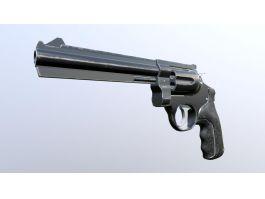 Vintage Revolver 3d preview