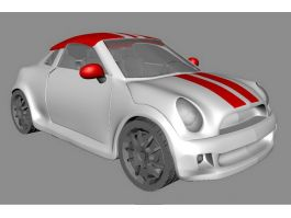 Small Minicar 3d preview