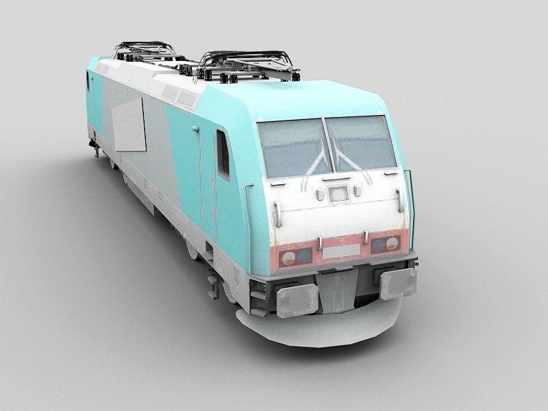 Bombardier TRAXX F140 MS2 3d rendering