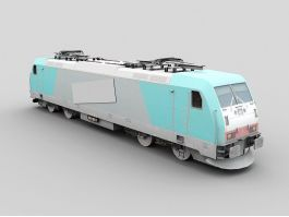 Bombardier TRAXX F140 MS2 3d preview