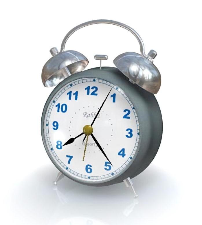 Classic Alarm Clock 3d rendering