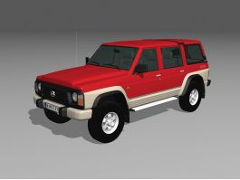 Nissan Patrol Y60 SUV 3d preview