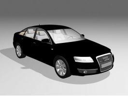 Audi A6 Car 3d preview