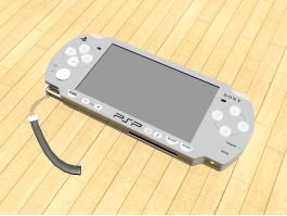 PSP-2000 Game Console 3d preview