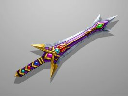 Gem Sword 3d preview