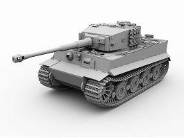 Tiger I Tank 3d preview