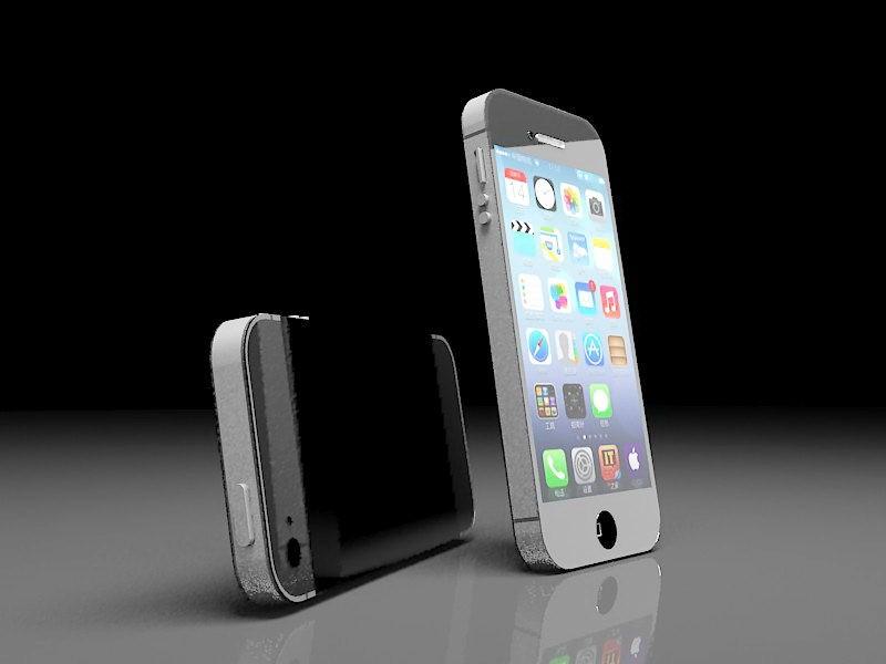iPhone 5 Render 3d rendering