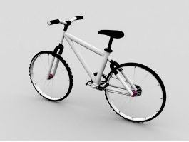 BMX Mountain Bike 3d preview