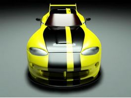 Dodge Viper ACR 3d preview