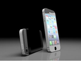 iPhone 5 Render 3d preview