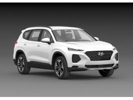 Hyundai Santa Fe 2019 3d preview