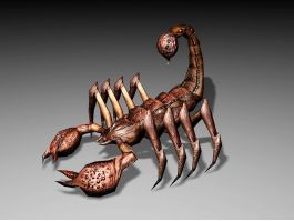 Desert Scorpion Monster 3d preview