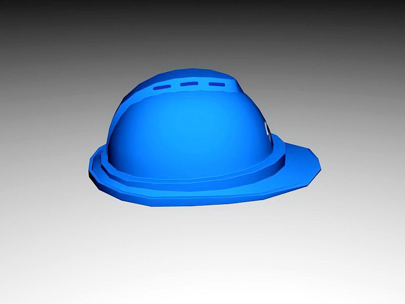 Safety Hard Hat 3d rendering