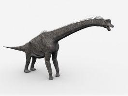 Brachiosaurus Sauropod Dinosaur 3d preview