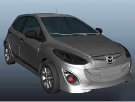 Mazda CX-3 3d preview