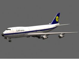 Boeing 747 3d preview