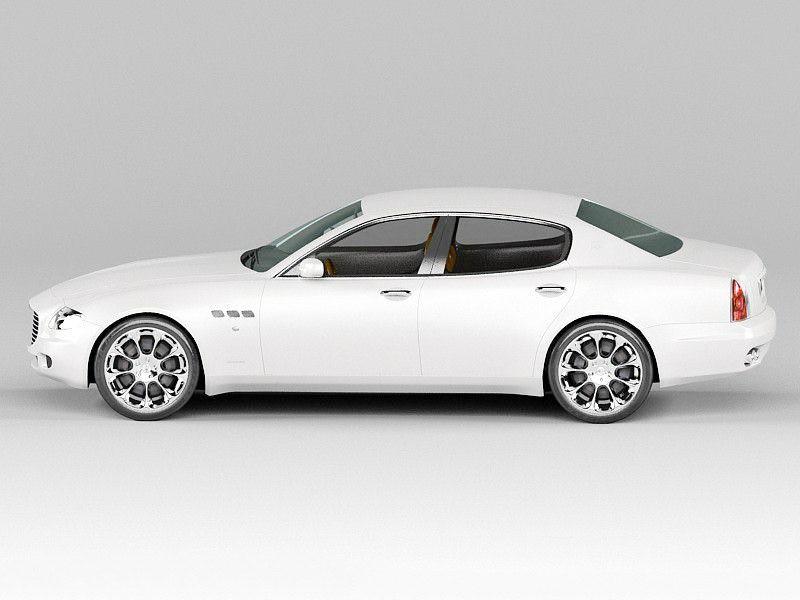 Maserati Quattroporte VI 3d rendering