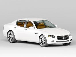 Maserati Quattroporte VI 3d preview