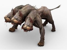 Three-Headed Dog Cerberus 3d preview